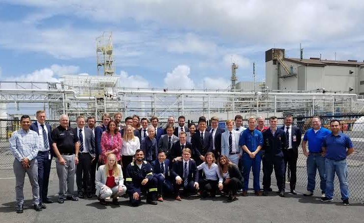 LyondellBasell Edison Plant Hosts Students from Netherlands